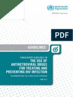 Pedoman WHO Terbaru Tentang ARV