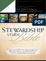 Stewardship Study Bible, Excerpt