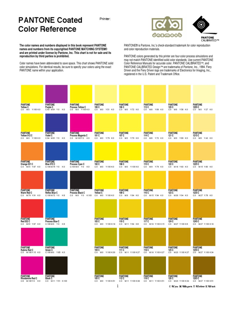 Pantonecoatedcolorreference by canetasqfalam cyan yellow nvjuhfo Gallery