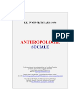 Anthropolo Sociale PRITCHARD