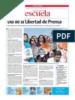 Día de La Libertad de Prensa.la Voz de La Escuela.30.4.2014 2