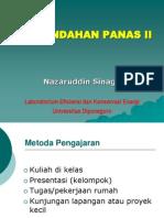 Kuliah 1 Perpan II Nazaruddin Sinaga
