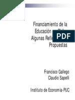 Educacion Gallego Sapelli