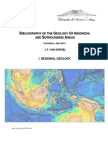 Bibliography of the Geology of Indonesia