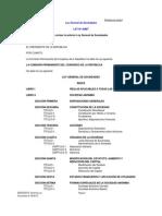 Ley 26887 General de Sociedades