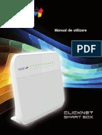 Configurarea router-ului Huawei HG658 - Romtelecom (Clicknet)