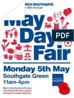 May Day Fair, Southgate Green, Monday 5th May 2014