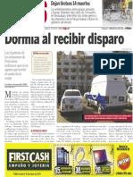 Policiaca  30 de abril 2014