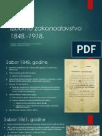 Izborno zakonodavstvo 1848