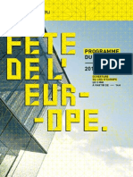 Programme 2014-Fête de l'Europe