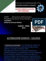 Alteracion Sodico Calcica - Tipo Greisen