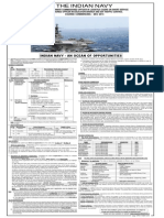 Notification Indian Navy Recruitment