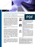 10 Things to Know About PE in Myanmar VDB Loi Analysis 14July2013