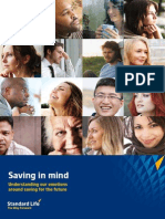 Saving in Mind - understanding our emotions around saving for the future.