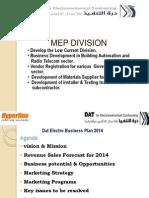 DAT Electro Busniess Plan 2014 Rev01