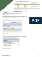 Activate CIN Master Data Screen in Vendor Creation _ SCN