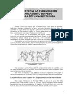 2010.11.15 - Historia Da Evolucao Do Lancamento Do Peso - Tecnica Rectilinea - Julio Cirino