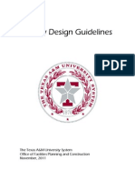 Facility Design Guidelines