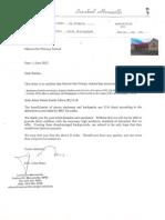 thank you letter from school - laerskool merweville