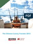 China's Luxury Traveler 2013 - Hurun Report