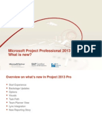 Microsoft Project Professional 2013 What is New TPG TheProjectGroup
