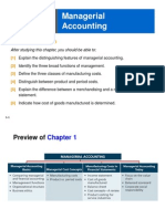Ch 1 Managerial Accounting Basics