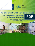 Pacific and Caribbean Conference on Effective and Sustainable Regulation of Energy and Water Services