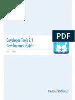 Developer Tools 2.1 Development Guide