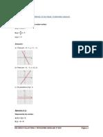 Ejercicios Resueltos Minimos 3c2ba Eso Tema 7 Funciones Lineales