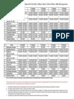 Academic Calandar All 2013-14