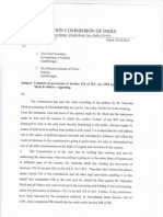 EC notice to Narendra Modi