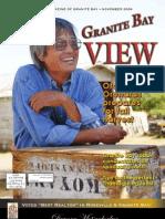 Granite Bay View - November 2009