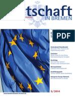 Wirtschaft in Bremen 05/2014 - Europawahl 2014