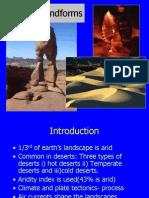 Arid Landforms