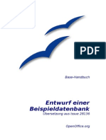 Base Entwurf Einer Datenbank