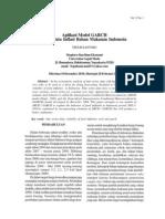 Data Inflasi Bahan Makanan Indonesia