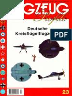 (Flugzeug Profile No.23) Deutsche Kreisflügelflugzeuge