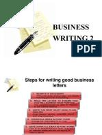 Business Writing 2