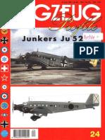 (Flugzeug Profile No.24) Junkers Ju 52