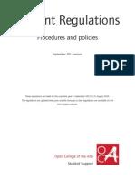 Student Regulations 2013 220813