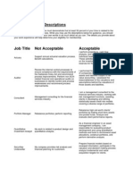Work Experience Descriptions (3)