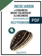 Semaine Du Micro-Volontariat