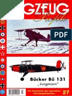 "(Flugzeug Profile No.27) Bücker Bü 131 ""Jungmann"""