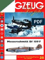 (Flugzeug Profile No.28) Messerschmitt Bf 109 F