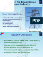 Solutions for Transmission Tower Industry