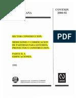 Edificicaciones Parte Iia 2000-2-1992 (Codificación)