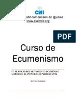 4 Inicio Movimiento Ecumenico Moderno Protestante