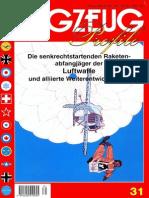 (Flugzeug Profile No.31) Die Senkrechtstartenden Raketenabfangjäger der Luftwaffe und Alliierte Weiterentwicklungen