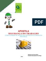 Apostila de Seguranca No Trabalho 2014 - Gestao Producao (1) (1)