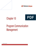Program Communication Management